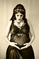 Pregnant Gothic Witch (15) by hugsnbloodykisses