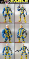 Custom Marvel Vs. Capcom Cable by KyleRobinsonCustoms