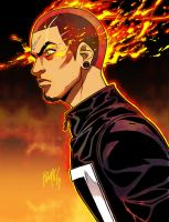 All-New Ghost Rider: Robbie Reyes by FelipeSmith