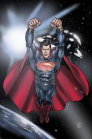 Man Of Steel space by Inhuman00