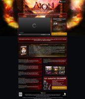 Aion Online store by Trookeye