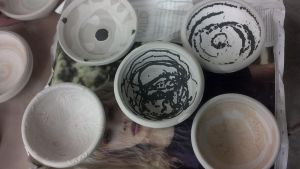 Second year ceramic: Bowls by Crimlean