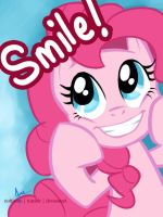 Pinkie Pie - Smile by riotfaerie