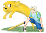 Adventure Time by hammie-d