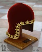 15th C. Italian Helmet CG by Ageofarmour