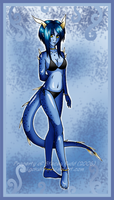 Azure Demoness by Jigokuko