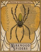 Mirkwood Spiders by Gr8Gonzo