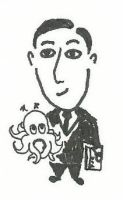 April 12th - H.P. Lovecraft by Rayleighev