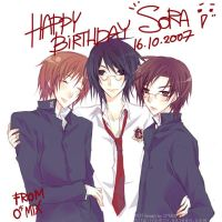 HBD sora : TeniPuri by mixed-blessing