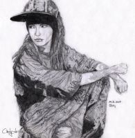 Tom Kaulitz by cindy-drawings