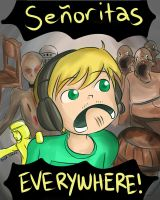 Pewdiepie : Senoritas EVERYWHERE ! by ashita-no-jyo