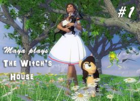 Maya plays: The Witch's House (part 1) by Axel-Doi
