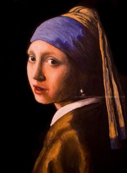 Girl with a Pearl Earring by snowflakeinthesea