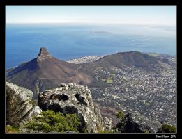 Table Mountain View by DarthIndy
