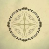 Celtic Compass Rose by west2