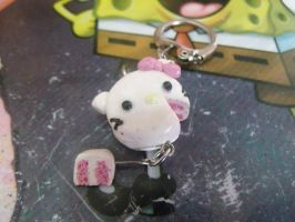 Polymer Clay : Hello Kitty Cake by eunnychan
