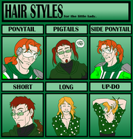 Hair Styles Meme - Piper by GoldphishCrackers