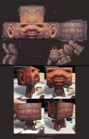 A turtle blockhead straight from hell by awesomeplex