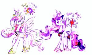 A Lovely Day and a Magical Night by HiccupsDoesArt