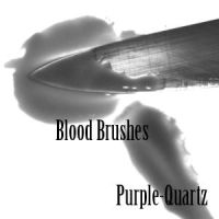 Blood  Brushes by Purple-Quartz-Brush