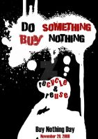 buy nothing day revised by ExtremeJuvenile