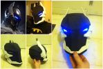Arkham Knight Helmet by n8s