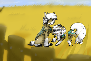 :CO:The Golden Siblings by wickedr345