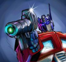 OPTIMUS PRIME 2012 by Optimus8404