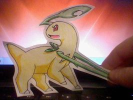 Bayleaf Paperchild by anime-manga-freak1