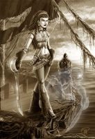 Ghosts and Pirates by deralbi