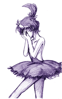 Princess Tutu - Kraehe - Stained Tears by amako-chan