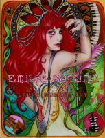 Art Nouveau Emilie Autumn by circus9aragon