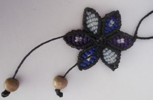 Macrame Flower by ElHiloNegro