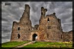 Dustanburgh Castle by MikeyMonkey