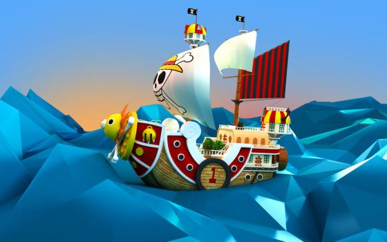 Thousand Sunny Go by Lutessius