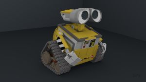 Wall-E Blender 3D Models by PixelOz