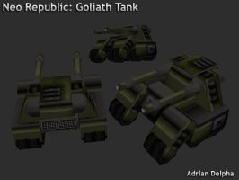 Neo Republic: Goliath Tank by DelphaDesign