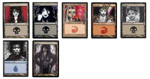 Magic the Gathering Alterations: Endless by Ondal-the-Fool