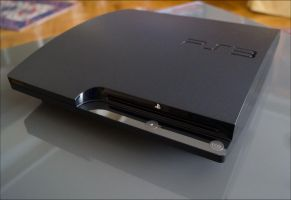 Playstation slim by apple-yigit-jack