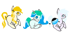 Pony Adopts! 5 points each! OPEN by Meadow-Leaf