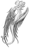 Winged creature by MOYRA-Athropos