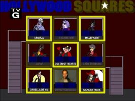 Disney Villains on Hollywood Squares by tpirman1982