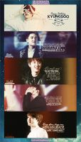 Pack Quotes Kyungsoo - Happy 600+ watcher! by GenieDesigner