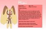 RfaT Bio Cards - Mimi by Sonic-chaos
