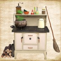 A Witche's Kitchen by Just-A-Little-Knotty