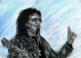 Tony Iommi -2 by the-ChooK