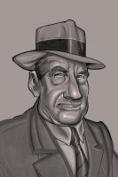 Chicago Gangster Frank_Costell by Dessin75