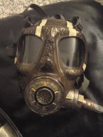 Steampunk Gas Mask 2 by PureNorseMayhem