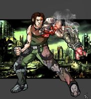 Bionic Commando by WillJonesArt