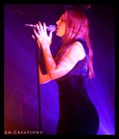 Simone Simons. Live Norway 23 by AmCreationss
